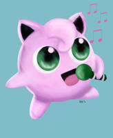 JIGGLYPUFF SPEED DRAWING+VIDEO by IDROIDMONKEY