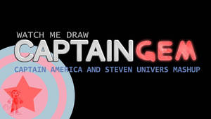 STEVEN UNIVERS+CAPTAIN AMERICA=CAPTAIN GEM THUMB by IDROIDMONKEY