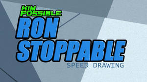 RON STOPPABLE -SPEED DRAWING THUMBNAIL  +VIDEO by IDROIDMONKEY