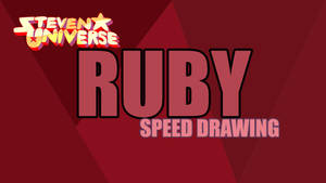 RUBY SPEED DRAWING THUMBNAIL+VIDEO by IDROIDMONKEY