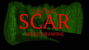 SCAR FROM THE LION KING SPEED PAINTING THUMB + VID by IDROIDMONKEY