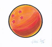 4 STAR DRAGON BALL SPEED DRAWING +VIDEO by IDROIDMONKEY