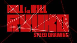 RYUKO (KILL LA KILL) SPEED DRAWING THUMB +VID by IDROIDMONKEY