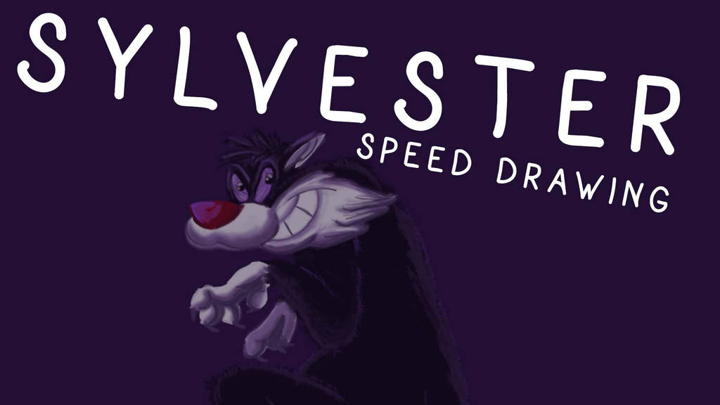 SYLVESTER SPEED DRAWING THUMB +VID by IDROIDMONKEY