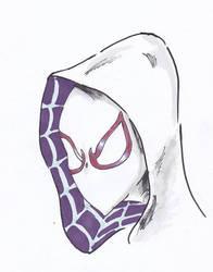 SPIDER GWEN/ GHOST SPIDER by IDROIDMONKEY