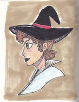 Just a witch by IDROIDMONKEY