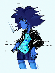 SU : Bad Lapis I guess by AtomicKitten13