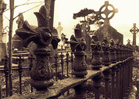 Graveyard by DarkStarPhoto