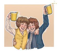 Party Like a Hobbit by AcidicGumdrops