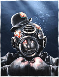 Ghastly-Dapper-Deep-Sea-Diver by Sc0tticus