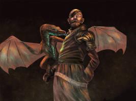 Dapper-Dragon-Handler by Sc0tticus