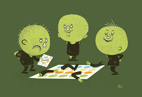Zombie Twister by annamariajung