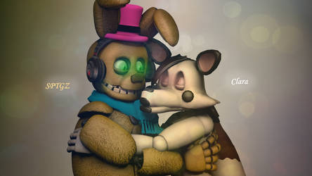 Couple Hug  (Gift) by Thunderbolt8361