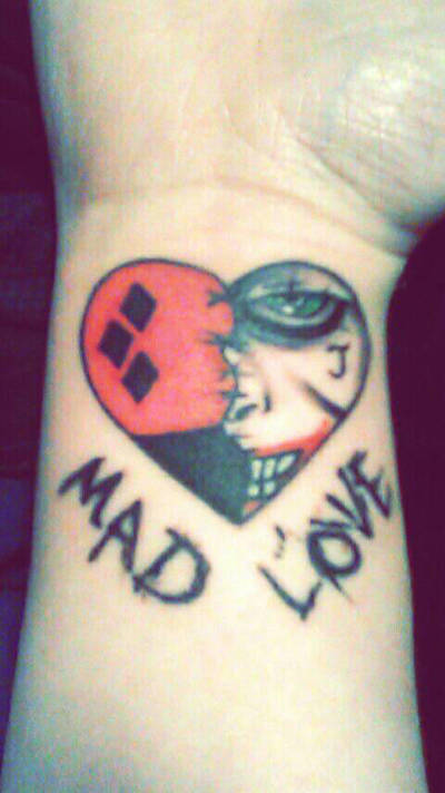 Joker And Harley Quinn Tattoo My Seventh One By border=