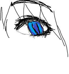 blue eye by lenaleeku