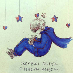 Quick doodle about the Little Prince  by GRKaterina