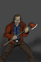 Jack from the Shinning Speed drawing by SimonPothier