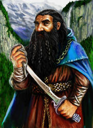 Thorin Oakenshield by TolmanCotton