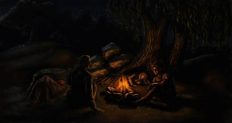 Camping by TolmanCotton