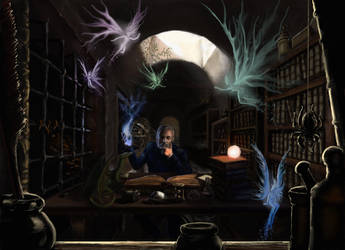 The Wizard's Den by TolmanCotton