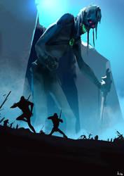 Giant guard zombie by kiankiani