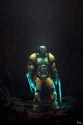 warrior by kiankiani