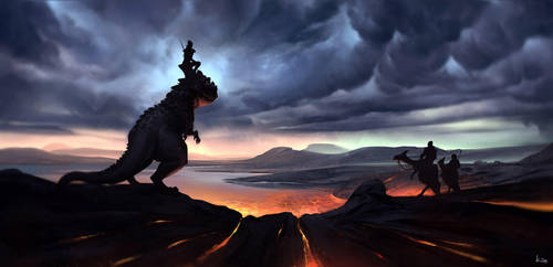 Dragon Rider by kiankiani