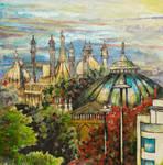 Brighton Domes by Kate-Kyrillion