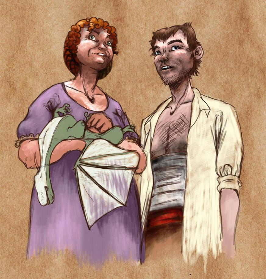 Sybil and Sam by Kate-Kyrillion