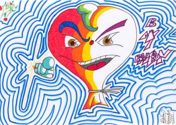 Be My Balloon by lukeNroll