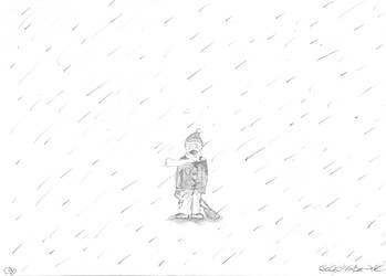 crying in the rain by lukeNroll