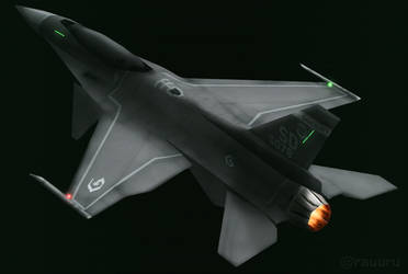 F-16XF Gyrfalcon (Have Glass V color scheme) by RauuruKun