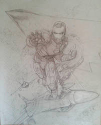 Ironman 11x17 pencils by kourmpamp