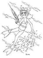 FAN - Inspector Gadget - Penny Spearfishing by shoxxe
