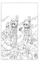 COM - Cardcaptors - Sakura, Tomoyo, and the Wave by shoxxe