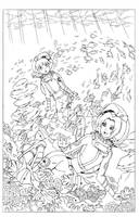 COM - Hinata and Sakura's First Dive by shoxxe