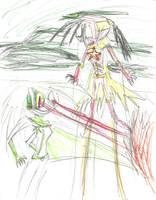 Wordgirl Enclave X: Miss Power Boss Fight by multificionado