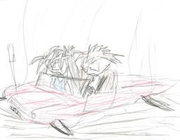 Lola Crash Landing by multificionado