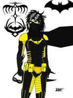 The Batgirl With The Dragon Tattoo by multificionado