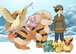 Jade, Pokemon Trainer, in Articuno Country by multificionado
