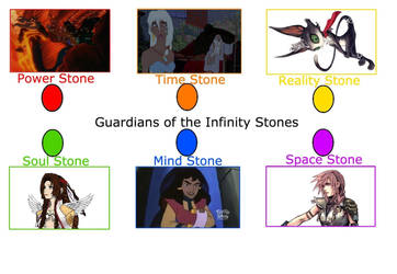Kingdom Hearts Infinity Stones Meme by multificionado