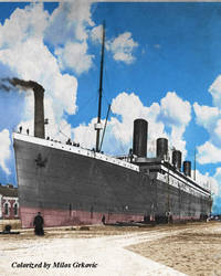 Titanic being fitted out by Milos15Gameplays