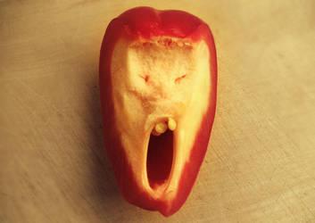 screaming paprika by selmiak