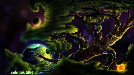 Tree Escape by selmiak