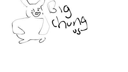 big chungus re draw by cursedimagesbyhb12