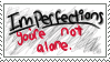 'Imperfections' Stamp by iReallyWish