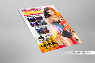 Centro Fridays Flyer by DeityDesignz