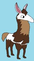 Animal Jam Llama OTA by AnimalLover670