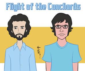 Flight of the Conchords by howardshum