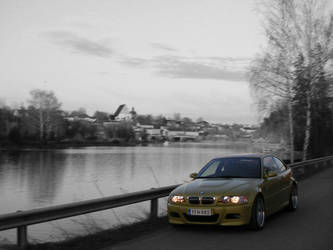 BMW E46 M3 and Old Porvoo by Deute